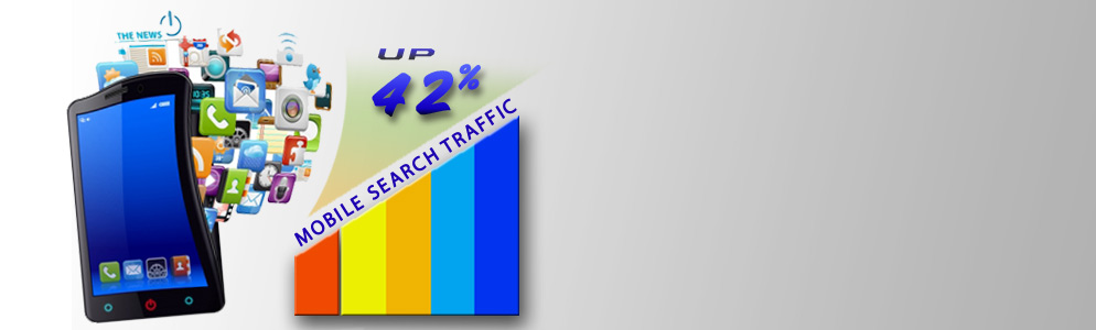 Mobile Search Traffic Climbs to 42 Percent